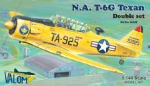 Valom 1/144 Model Kit 14408 North-American T-6G Texan Dual Combo